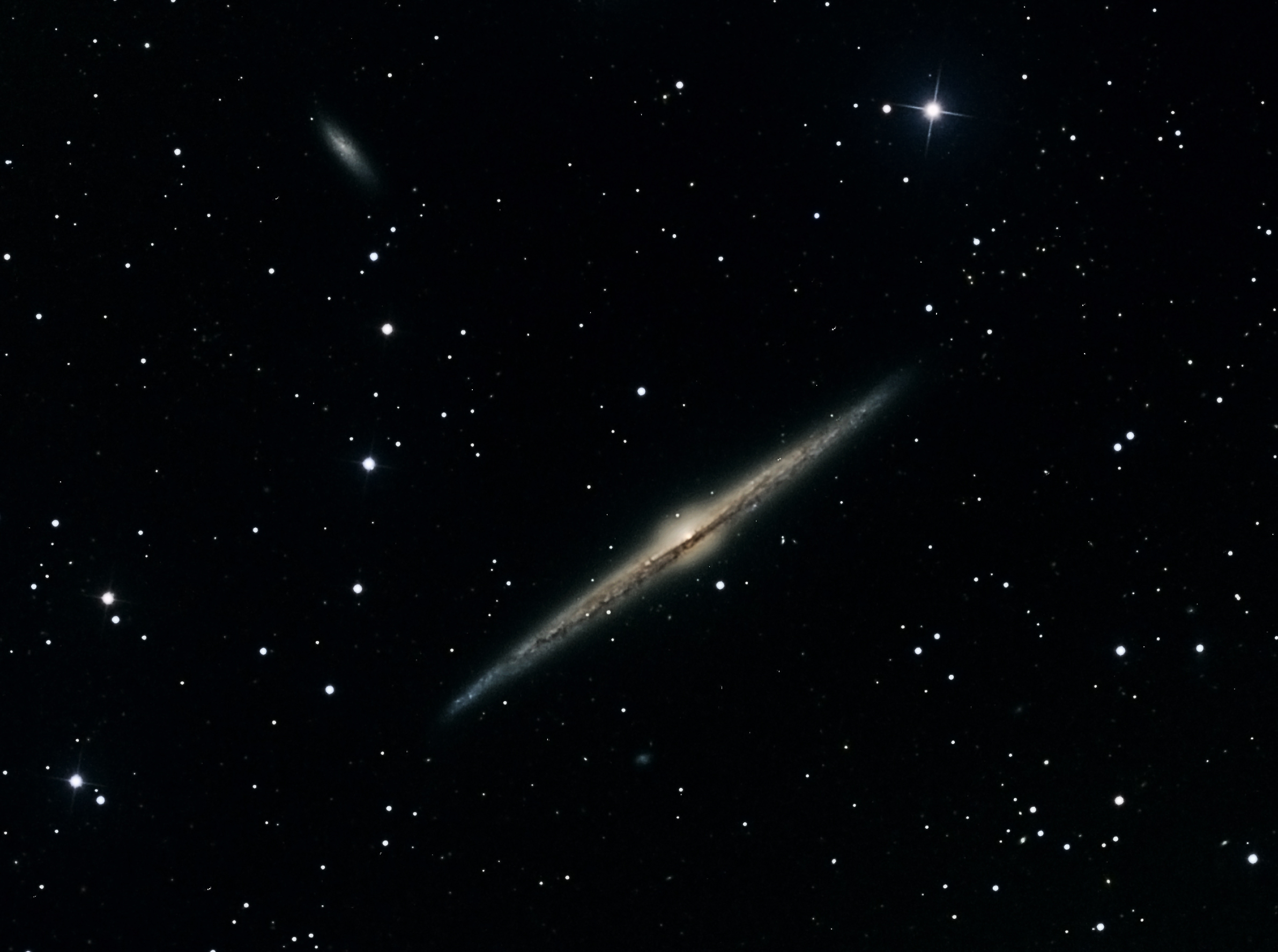 NGC 4565 By Vic Eden
