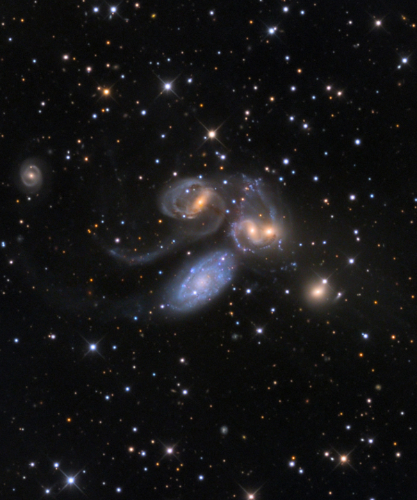 Stephan's Quintet by Vic Eden and Adam Block