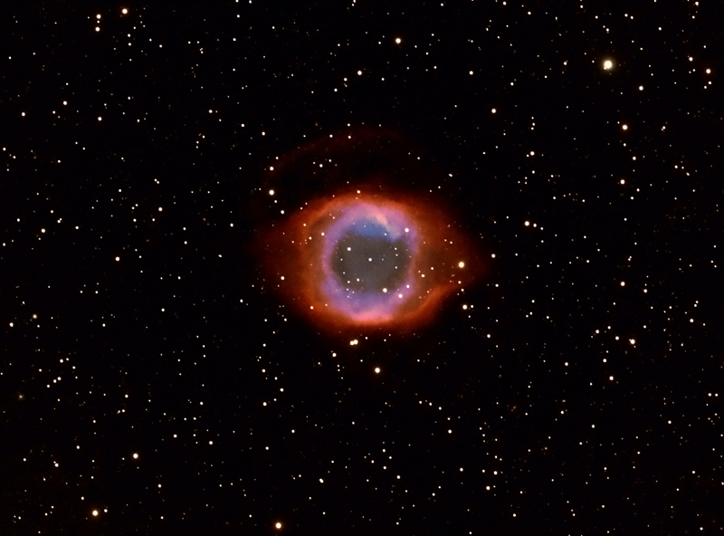 The Helix Nebula By Vic Eden